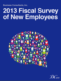 2013 Fiscal Survey of New Employees